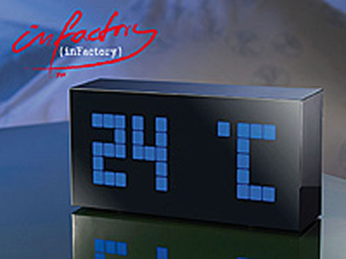 led digital uhr alarmwecker tischuhr memoboard mit. Black Bedroom Furniture Sets. Home Design Ideas