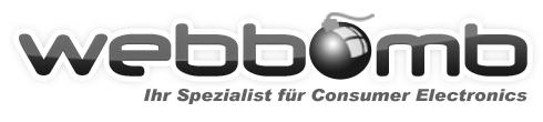 WEBBOMB Consumer Electronics-Logo